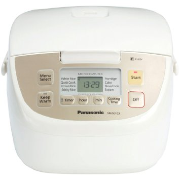 Panasonic SR-DE103 - cheap rice cooker
