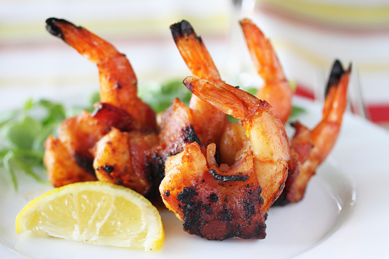 BBQ-Bacon-Wrapped-Shrimp